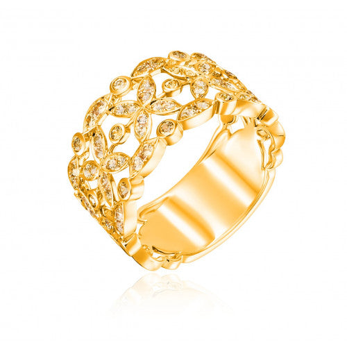 la bague or jaune