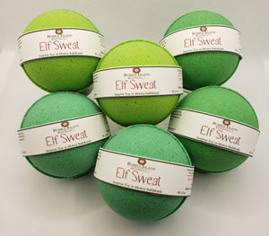 Elf Sweat Toy/Money Bath Bomb Set of 6