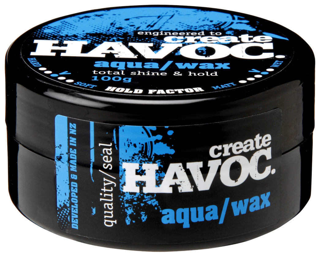 Create Havoc Aqua hair wax