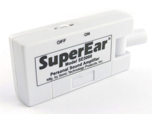 SuperEar personal sound amplifier