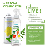 Special Combo Offer: Multi-Purpose Disinfectant Spray & Healthie Veggie Wash