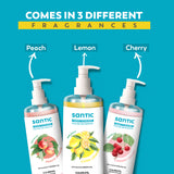 Santic Hand Cleanser- Pack Of 3 (500 ML)
