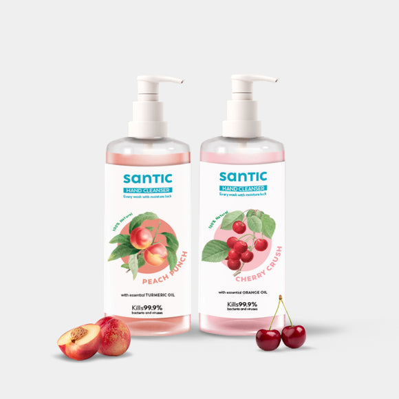 Santic Hand Cleanser- Pack Of 2 (500 ML)