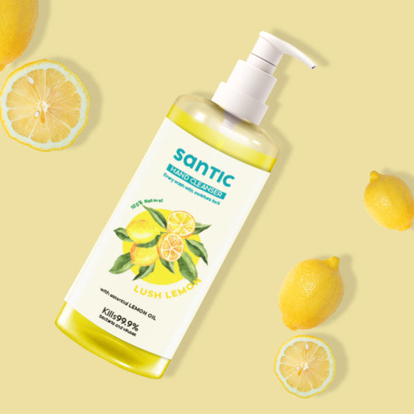 Santic Hand Cleanser- Lemon Lush (500 ML)