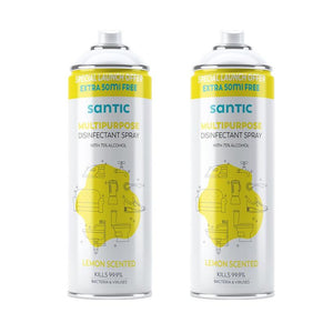 Buy Lemon Disinfectant Spray- Pack of Two (300ML) & Get 1 FREE
