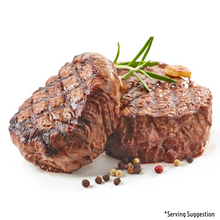 Load image into Gallery viewer, Beef Tenderloin Whole Raw Serving Suggestion