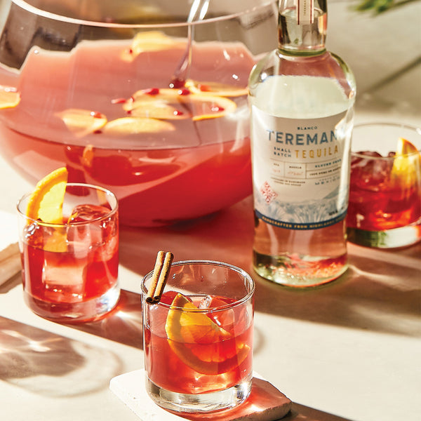 Teremana Spiced Pomegranate Punch