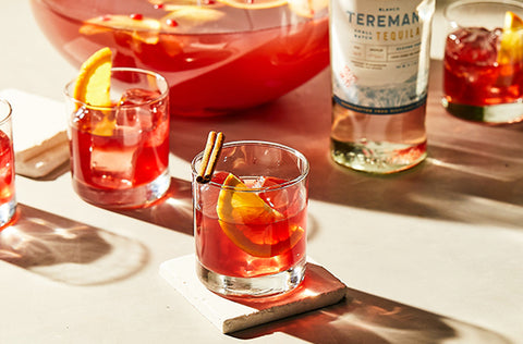 Spice Pomegranate Punch