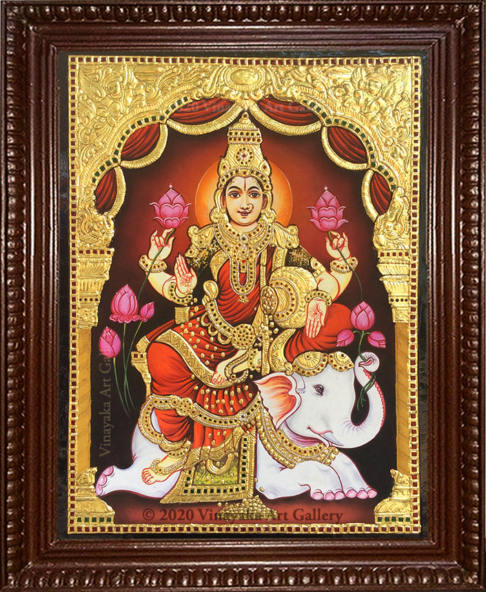 Lakshmi with Elephant