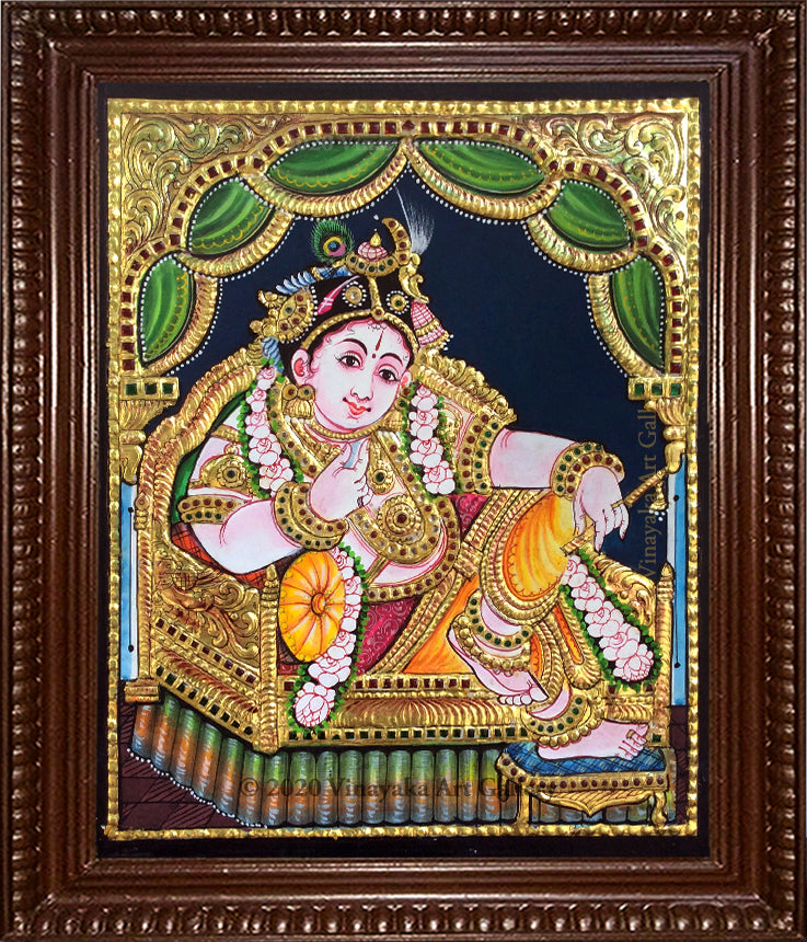 Baby Krishna with Flute