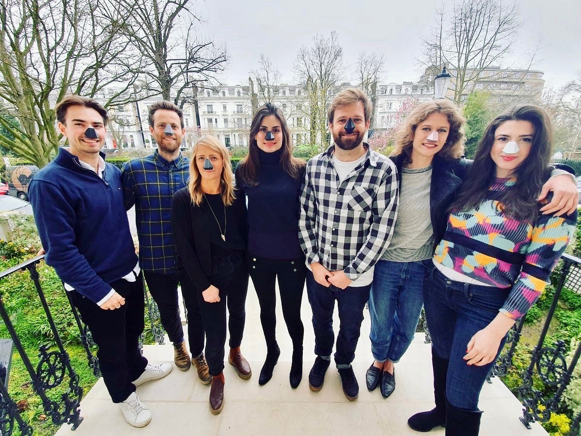 Aetha Designs Team and Nosy Team, Product Prototype Meeting in Notting Hill March 2020