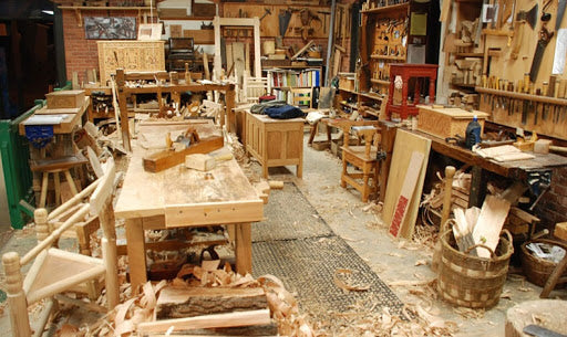 How to set up a woodworking shop?