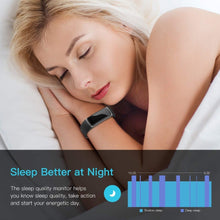 Load image into Gallery viewer, Smart watch real-time monitor heart rate & sleeping Fitness Tracker - ONYOURMIND