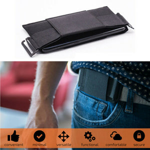 Minimalist Invisible Wallet Women Men - ONYOURMIND
