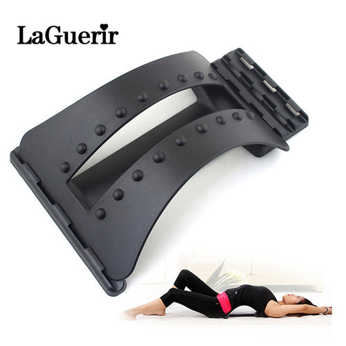 Back Massager Stretcher Fitness Massage Equipment Stretcher Lumbar Support Spine Pain Relief - ONYOURMIND