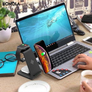 3 in 1 Wireless Charger Station - ONYOURMIND