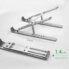 Load image into Gallery viewer, Adjustable Foldable Laptop Stand - ONYOURMIND