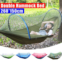 Load image into Gallery viewer, LockMesh+ Camping Netted Hammock - ONYOURMIND
