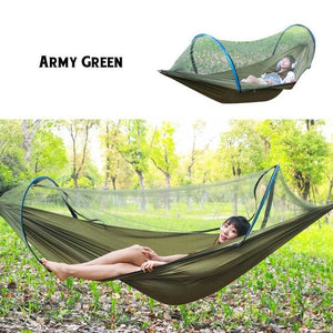 LockMesh+ Camping Netted Hammock - ONYOURMIND