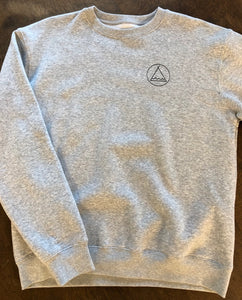 Crew Neck Tent Club - Heather Grey SA154