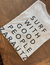 Load image into Gallery viewer, T-Shirt Tent Words - Light Grey  SC010