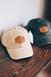 Stone Washed Cap Club - Beige  SA724