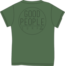 Load image into Gallery viewer, Tent Corporate Tee - Army Green Heather  SA112