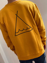 Load image into Gallery viewer, Crew Neck Line Tent - Mustard  SA150