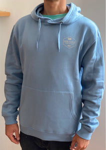Hooded Club Caravan - Blue Pastel  SA161