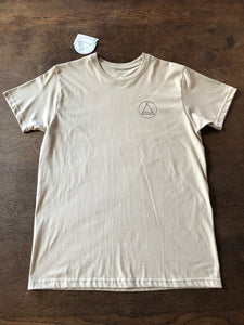 T-Shirt Tent Club - Camel  SA100