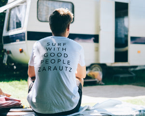 T-Shirt Tent Words - White  SC010