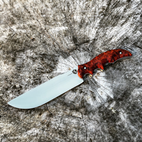 Custom Blackheart Gunner 12 with Redwood Burl