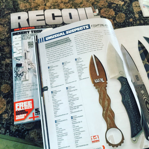 Blackheart Knives Review in Recoil Magazine