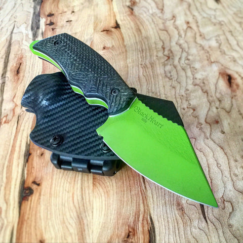 Blackheart Knives Pike in Toxic Green