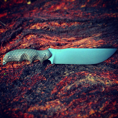 BlackHeart Gunner 12 best sharpest strongest military police combat tactical survival bushcraft fighting knife