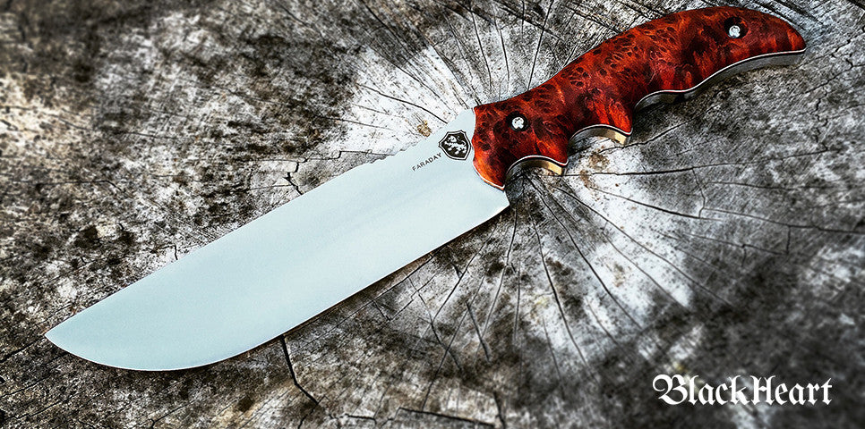 BlackHeart Juggernaut knife