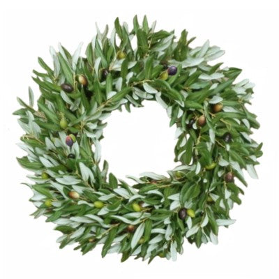 Olive Branch Wreath 24""