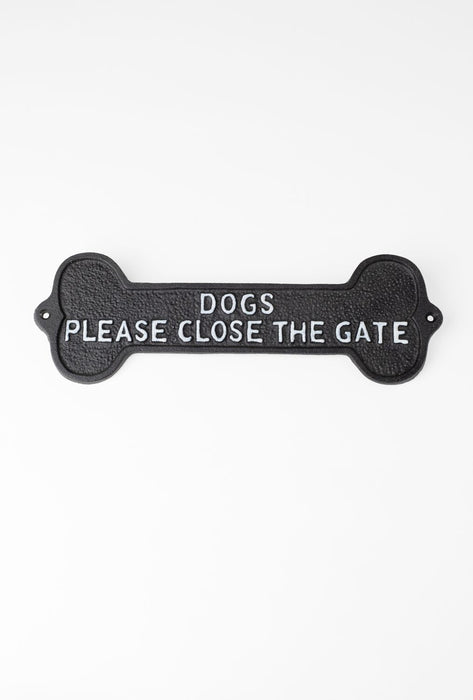 Dog Bone Sign