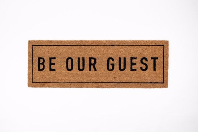 Be Our Guest Mat