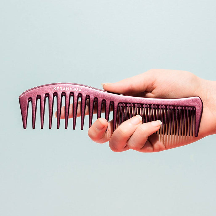 Branded Exclusive Keranique Comb Detangler  included inside the Keranique Hair Regrowth Deluxe System