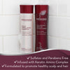 Keranique Curl Preserve Shampoo and Conditioner Set for Curly, Textured Hair that are both sulfates and parabens free, infused with Keratin Amino Complex and is formulated to promote healthy scalp and hair