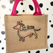 Load image into Gallery viewer, Mini Jute Gift Bag