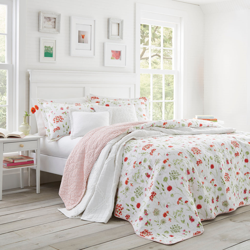 LAURA ASHLEY QUILT LIBBY HOME AND FASHION