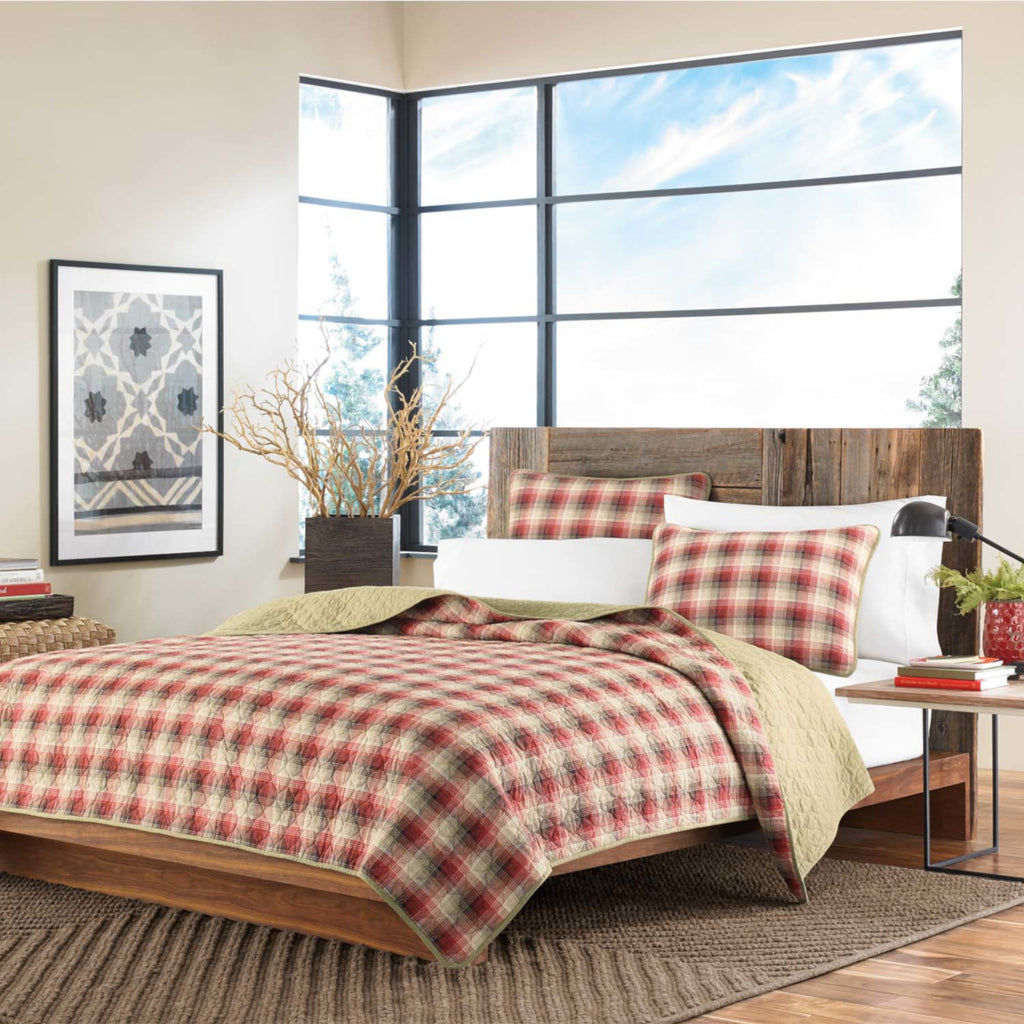 EDDIE BAUER QUILT RAVENNA HOME AND FASHION