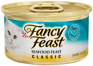 Fancy Feast Gourmet Seafood Canned Cat Food