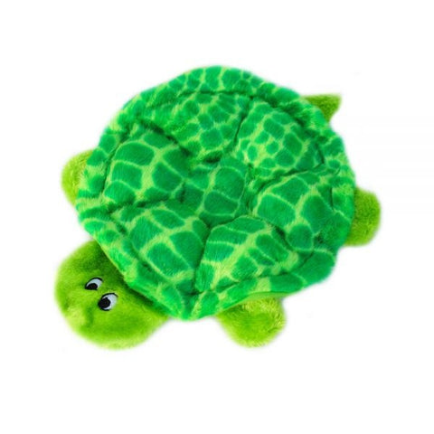 ZippyPaws Squeakie Crawler SlowPoke the Turtle Plush Dog Toy