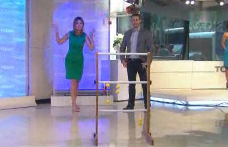 TODAY SHOW features Ladder Golf