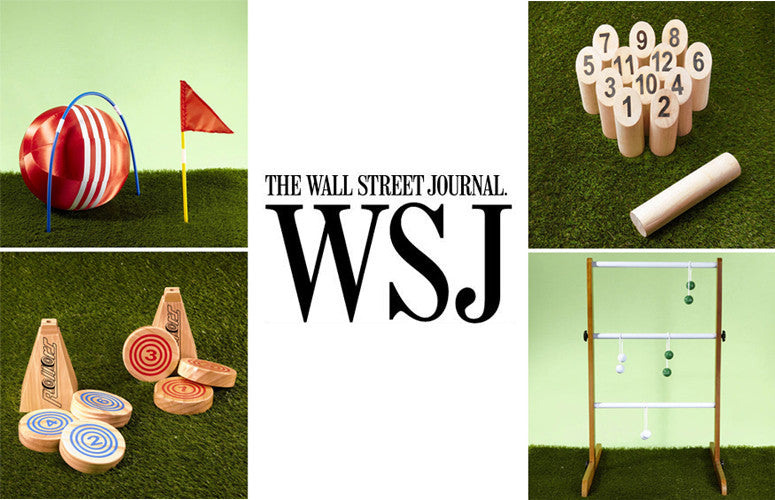 Ladder Golf featured in The Wall Street Journal.