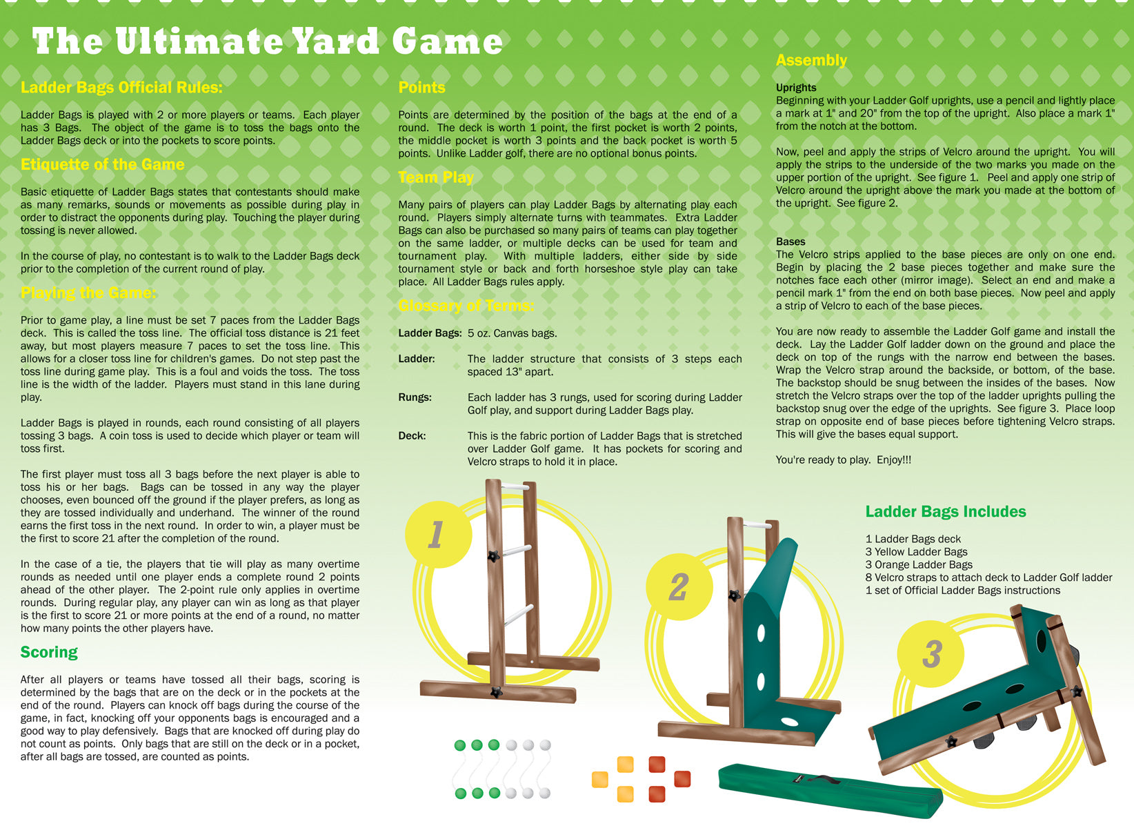 Official Rules - Ladder Golf®