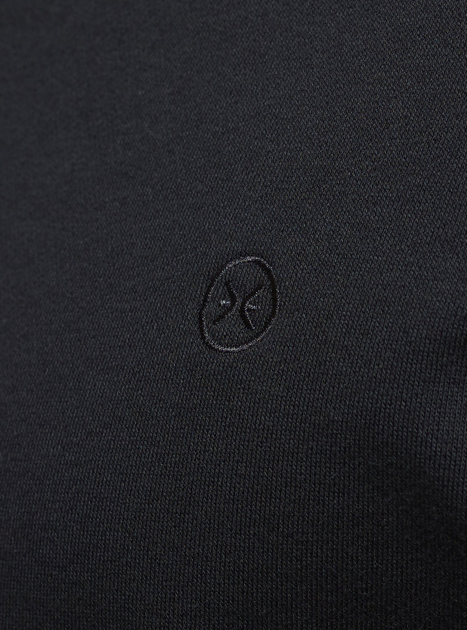 Embroidery Sweat Noir